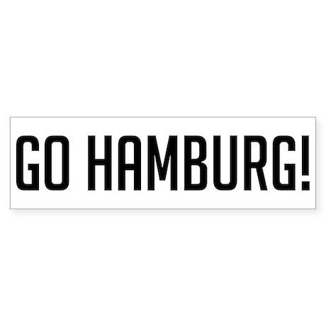 Go Hamburg! Bumper Sticker