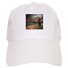 """Why God Made Dogs"" GSP Baseball Cap"