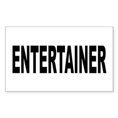 Entertainer Decal
