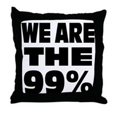 We are the 99% Throw Pillow