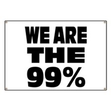 We are the 99% Banner