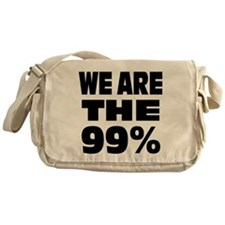 We are the 99% Messenger Bag