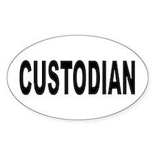 Custodian Decal