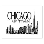 Chicago My Town Small Poster