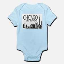 Chicago My Town Infant Bodysuit