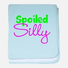 Spoiled Silly baby blanket