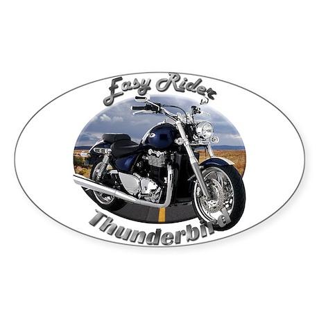Triumph Thunderbird Sticker (Oval 10 pk)