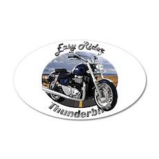 Triumph Thunderbird Medium Oval Wall Peel