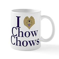 I Heart Chows Mug