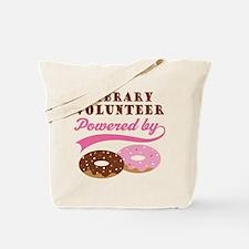 Library Volunteer Funny Tote Bag