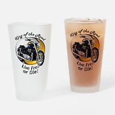 Triumph Thunderbird Drinking Glass