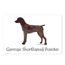 German Shorthaired Pointer Postcards (Package of 8