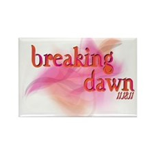 Breaking Dawn Abstract Rectangle Magnet