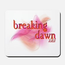 Breaking Dawn Abstract Mousepad