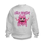 Little Monster Kim Kids Sweatshirt