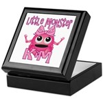 Little Monster Kim Keepsake Box