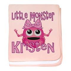 Little Monster Kristen baby blanket