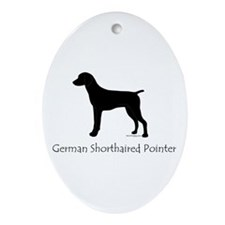 German Shorthaired Pointer Ornament (Oval)