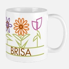 Brisa with cute flowers Mug