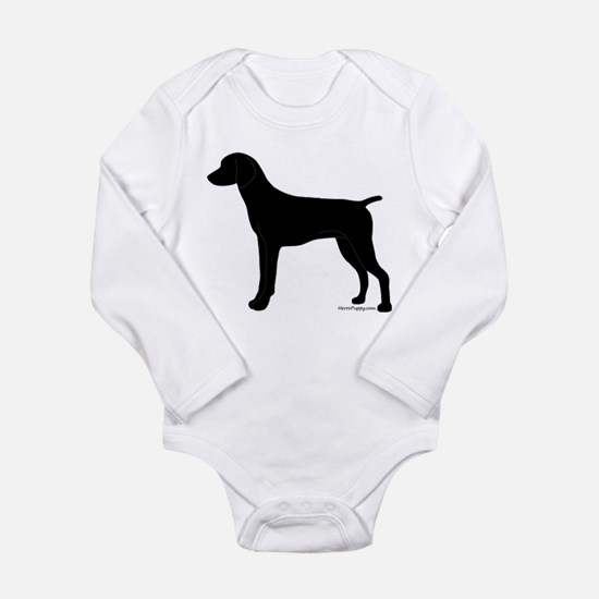 German Shorthaired Pointer Long Sleeve Infant Body
