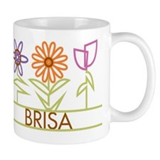 Brisa with cute flowers Mug