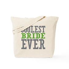 Coolest Bride Tote Bag