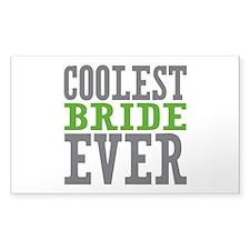 Coolest Bride Decal