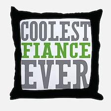 Coolest Fiance Throw Pillow