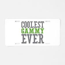 Coolest Gammy Aluminum License Plate