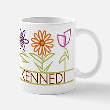 Kennedi with cute flowers Mug