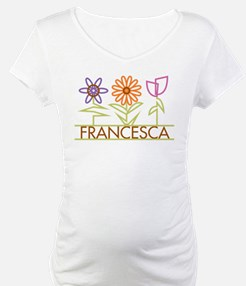 Francesca with cute flowers Shirt