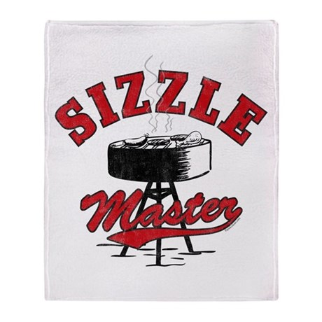 Sizzle Master Throw Blanket