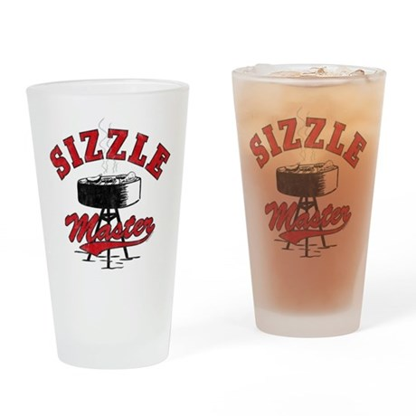 Sizzle Master Drinking Glass