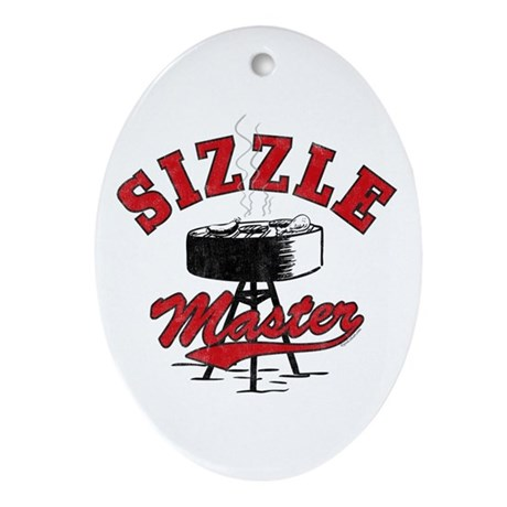 Sizzle Master Ornament (Oval)