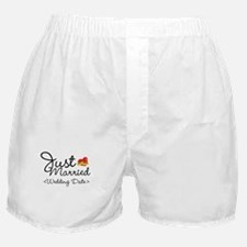 Just Married (Add Your Wedding Date) Boxer Shorts
