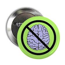 """Brain Not Found 2.25"""" Button"""