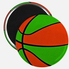 Christmas Basketball Magnet