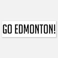 Go Edmonton! Bumper Bumper Bumper Sticker