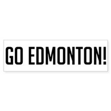 Go Edmonton! Bumper Bumper Sticker