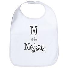 M Is For Meghan Bib