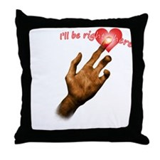 "E.T. I'll be right here"" Throw Pillow"