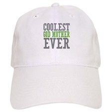 Coolest God Mother Baseball Cap