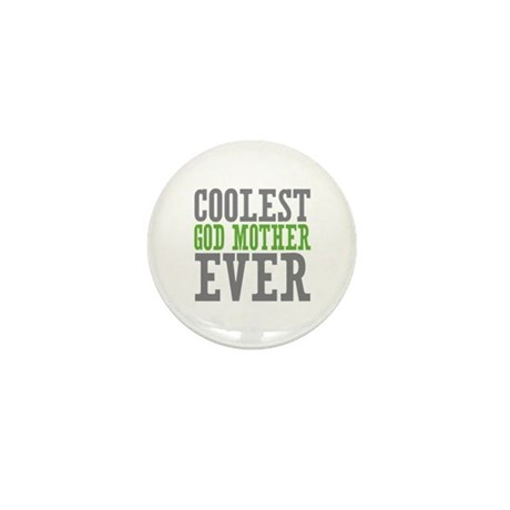 Coolest God Mother Mini Button (100 pack)