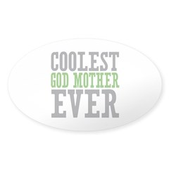 Coolest God Mother Decal