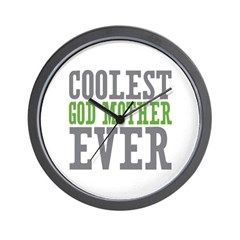 Coolest God Mother Wall Clock