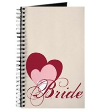 Triple Hearts Bride Journal