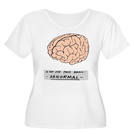 Abby Normal - Women's Plus Size Scoop Neck T-Shirt