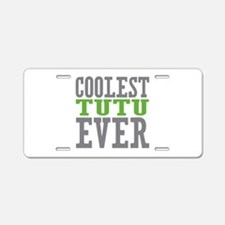 Coolest Tutu Aluminum License Plate