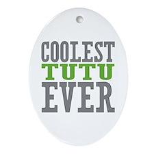 Coolest Tutu Ornament (Oval)