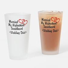 Cute Groom 2012 Drinking Glass
